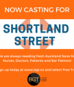 Shortland Street extras and featured extras needed.